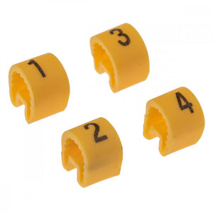 IGNITION LEAD CABLE NUMBERING SET , 4 CYL.