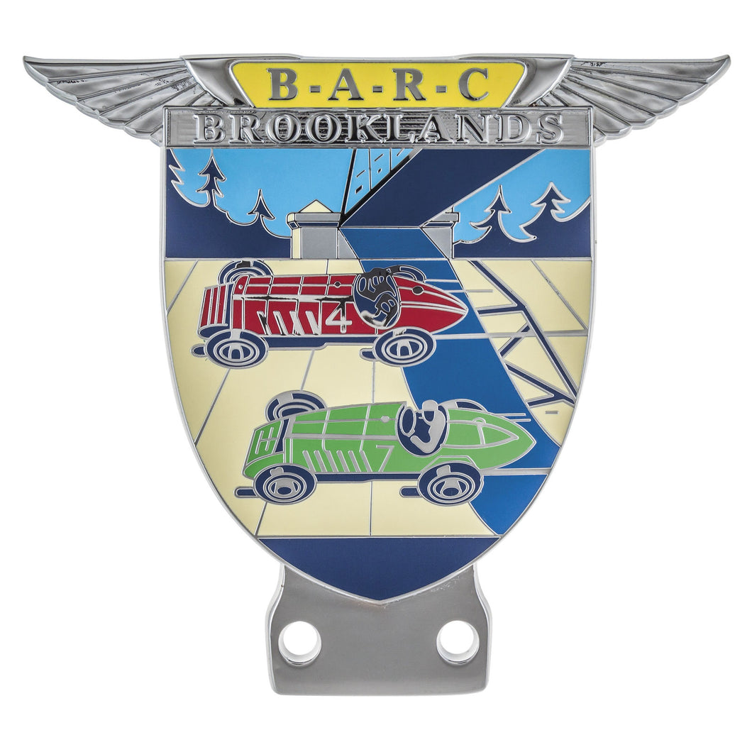 BADGE B.A.R.C. BROOKLANDS