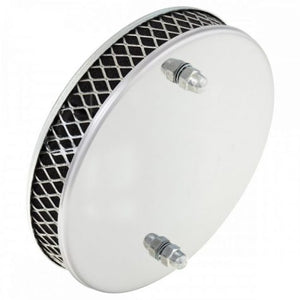 "AIR FILTER HS4, CENTRE HOLE, 1 1/2"", STAINLESS STEEL"