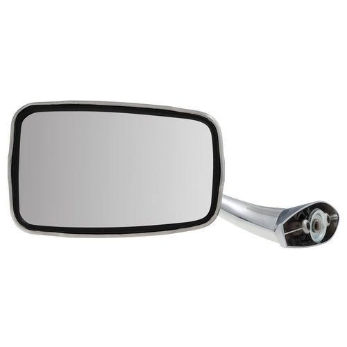 STAINLESS STEEL DOOR MIRROR, FLAT, LH