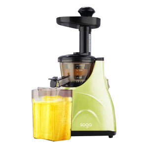 SOGA Cold Press Slow Juicer Fruit Vegetable Processor Juice Extractor Green