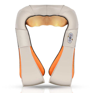 SOGA Shiatsu Vibration Massage Neck Shoulder Infrared Heating Cushion Massager