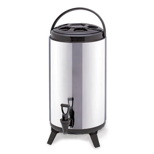 SOGA 12L Portable Insulate Cold/Heat Coffee Bubble Tea Pot Beer Barrel With Dispenser