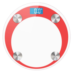 SOGA Digital Bathroom Weight Scales Body Fat Scale Water Glass LCD AU Stock Red