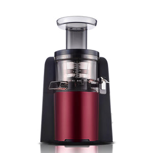 SOGA Cold Press Slow Juicer Fruit Vegetable Mixer Extractor Processor Red