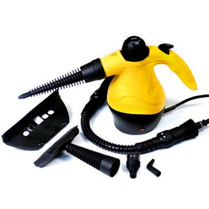 1000w Portable Handheld Handy Steam Cleaner Floor Carpet Steamer Washer Pressure Yellow