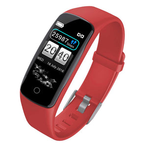 SOGA Sport Monitor Wrist Touch Fitness Tracker Smart Watch Red