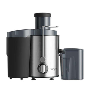 SOGA Juicer 400W Professional Stainless Steel Whole Fruit Vegetable Juice Extractor Diet Chrome