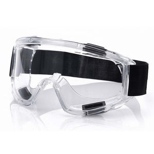 Clear Protective Eye Glasses Safety Windproof Lab Goggles Eyewear