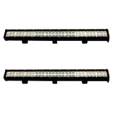 2X 28inch 180W Cree Led Light Bar Spot Flood Light 4x4 Offroad Work Ute Atv 12v 24v