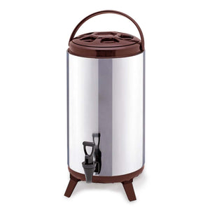 SOGA 18L Portable Insulated Cold/Heat Coffee Tea Beer Barrel Brew Pot With Dispenser