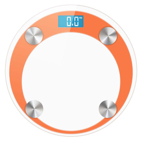 SOGA Digital Bathroom Weight Scales Body Fat Scale Water Glass LCD AU Stock Orange