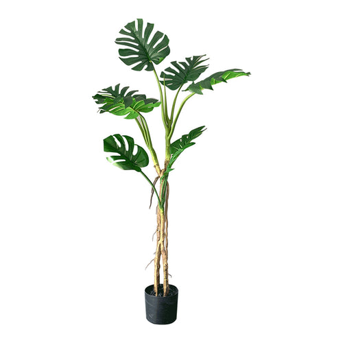 SOGA 160cm Green Artificial Indoor Turtle Back Tree Fake Fern Plant Decorative