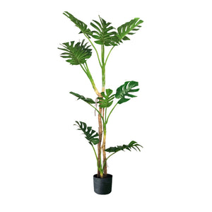 SOGA 175cm Green Artificial Indoor Turtle Back Tree Fake Fern Plant Decorative