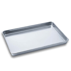 SOGA Aluminium Oven Baking Pan Cooking Tray for Bakers Gastronorm 60*40*5cm
