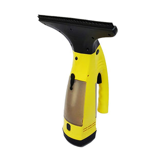 Electric Window Cleaner Wiper Yellow Bathroom Shower Squeegee Glass Screen Tile Car Yellow