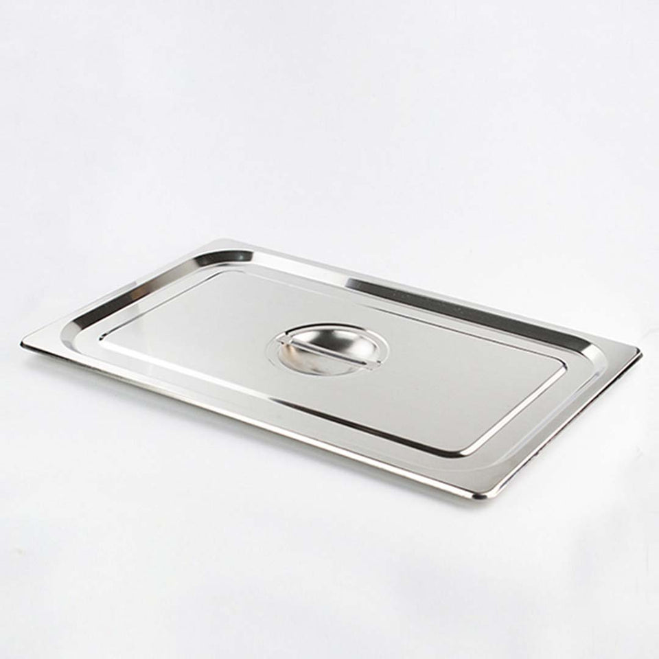 SOGA 4X Gastronorm GN Pan Lid Full Size 1/1 Stainless Steel Tray Top Cover