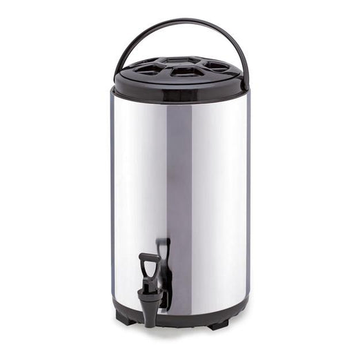 SOGA 8L Portable Insulated Cold/Heat Coffee Tea Beer Barrel Brew Pot With Dispenser