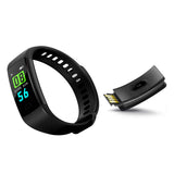SOGA Sport Smart Watch Health Fitness Wrist Band Bracelet Activity Tracker Black