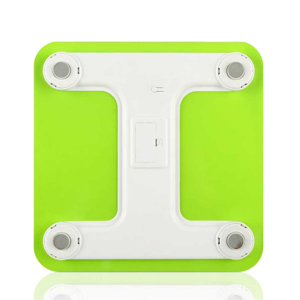 SOGA 2x 180kg Digital Fitness Bathroom Gym Body Glass LCD Electronic Scale Green