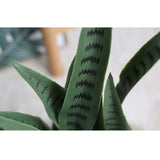 SOGA 2X 95cm Artificial Indoor Snake Sansevieria Plant Fake Decoration Tree Flower Pot