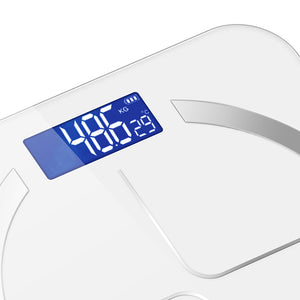 SOGA 3X 180kg Digital Fitness Weight Bathroom Body Glass LCD Electronic Scales Black/White/Pink