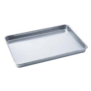 SOGA 10X Aluminium Oven Baking Pan Cooking Tray for Baker Gastronorm 60*40*5cm
