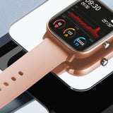 SOGA Waterproof Fitness Smart Wrist Watch Heart Rate Monitor Tracker P8 Gold