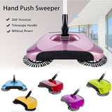 SOGA Auto Hand Push Sweeper Broom Household Cleaning Without Electricity Cleaner Mop Green