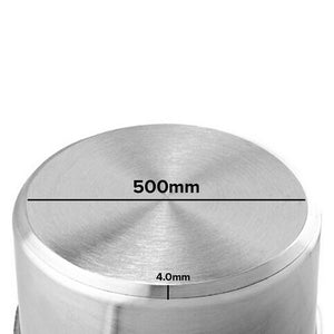 SOGA Stock Pot 98Lt Top Grade Thick Stainless Steel Stockpot 18/10