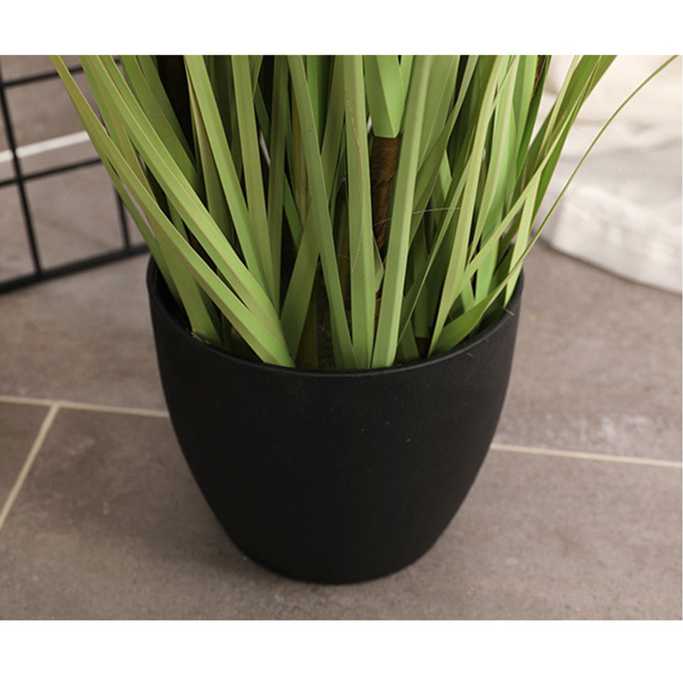 SOGA 4X 150cm Green Artificial Indoor Potted Reed Grass Tree Fake Plant Simulation Decorative