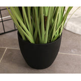 SOGA 2X 150cm Green Artificial Indoor Potted Reed Grass Tree Fake Plant Simulation Decorative
