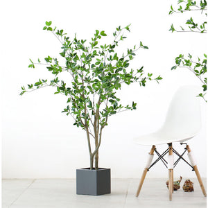 SOGA 120cm Green Artificial Indoor Watercress Tree Fake Plant Simulation Decorative