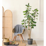SOGA 150cm Green Artificial Indoor Pocket Money Tree Fake Plant Simulation Decorative