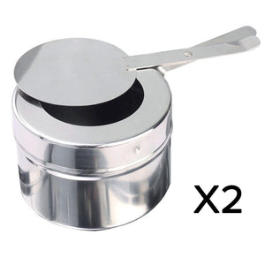 SOGA Stainless Steel Chafing 2x4.5L Catering Dish Food Warmer