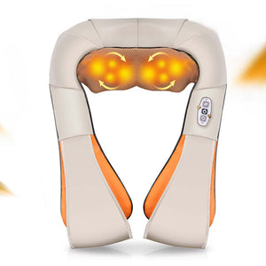 SOGA 2X Electric Kneading Neck Shoulder Arm Body Massager With Heat Health Care