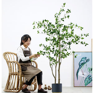 SOGA 4X 150cm Green Artificial Indoor Watercress Tree Fake Plant Simulation Decorative