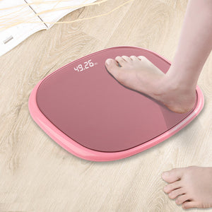 SOGA 2X 180kg Digital Fitness Weight Bathroom Gym Body LCD Electronic Scales Rose