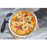 SOGA Round Seamless Aluminium Nonstick Commercial Grade Pizza Screen Baking Pan Set