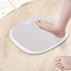 SOGA 180kg Digital Fitness Weight Bathroom Gym Body LCD Electronic Scales White