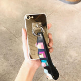 Luxury Fashionable Durable Silver Mirror Back iPhone Case 6/6s,6/6sPlus,7,7Plus