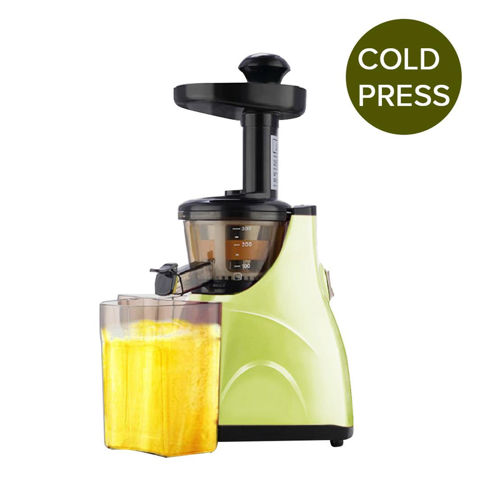 SOGA Slow Juicer Premium Masticating Electric Vegetable Juice Extractor Green
