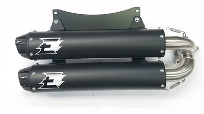 Empire Industries DualSlip On Exhaust for Polaris RS1 − ATV - Get It Power Sports
