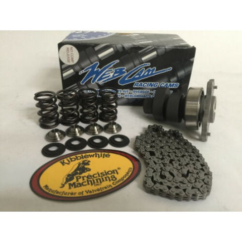 08-14 Raptor 700 340C/942 Grind Webcam Web Cam Kibblewhite Valve Springs Chain