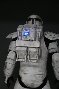 Seamed RC Armor Inspired by Star Wars: Republic Commando