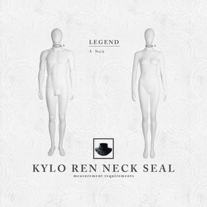 Kylo Ren - Neck Seal - Inspired by Star Wars: The Force Awakens