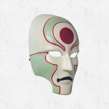 Load image into Gallery viewer, Amon Kabuki Mask - Inspired by Avatar: The Legend of Korra - Custom Prop Replica