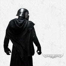 Load image into Gallery viewer, Kylo Ren - Undershirt With Pleated Sleeves - Inspired by Star Wars: The Force Awakens