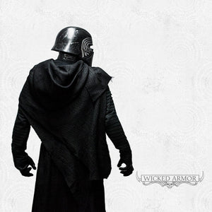 Kylo Ren - Undershirt With Pleated Sleeves - Inspired by Star Wars: The Force Awakens