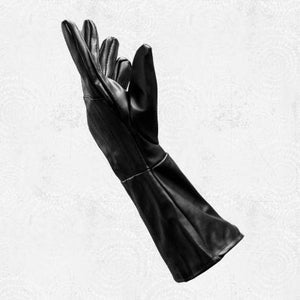 "Darth Nihilus Long Cuffed ""Sith"" Pleather Gloves"